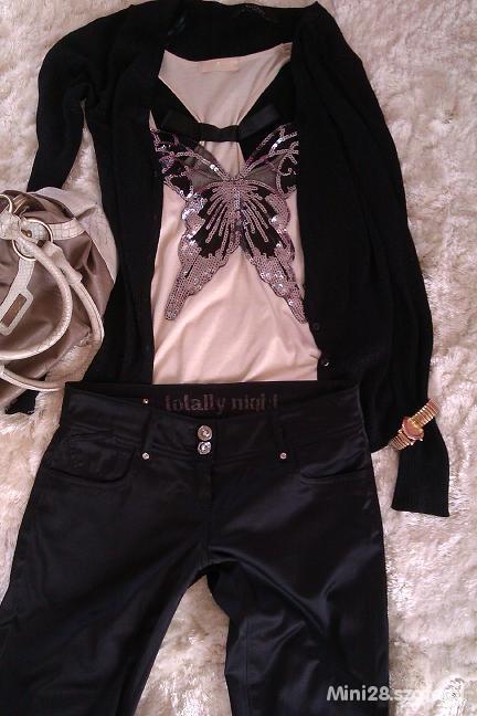 Spodnie Super czarne eleganckie Tally Weijl