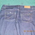 dzinsowe spodnie 40