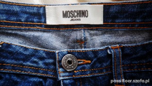 Spodnie spodnie MOSCHINO