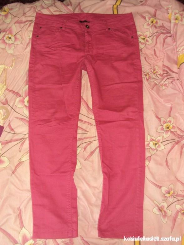 Spodnie Różowe rurki rozmiar 44