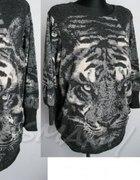 oversize z tygrysem