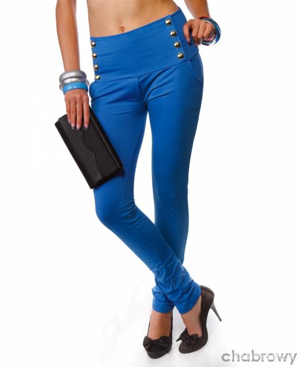 Spodnie SPODNIE LEGINSY chabrowe