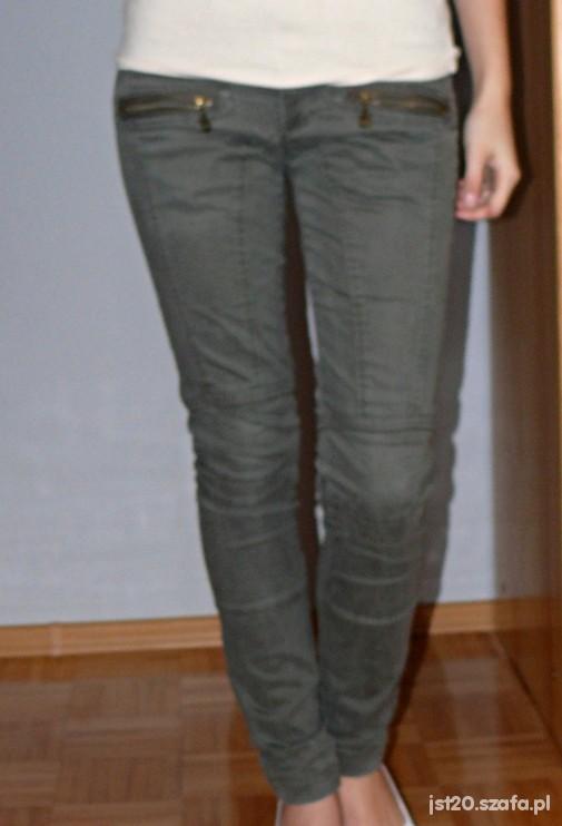 Spodnie Oliwkowe spodnie House