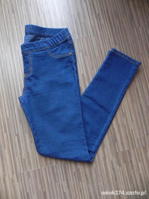 Spodnie GRANATOWE TREGINSY M