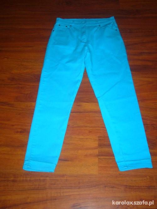 Spodnie neonowe marchewy