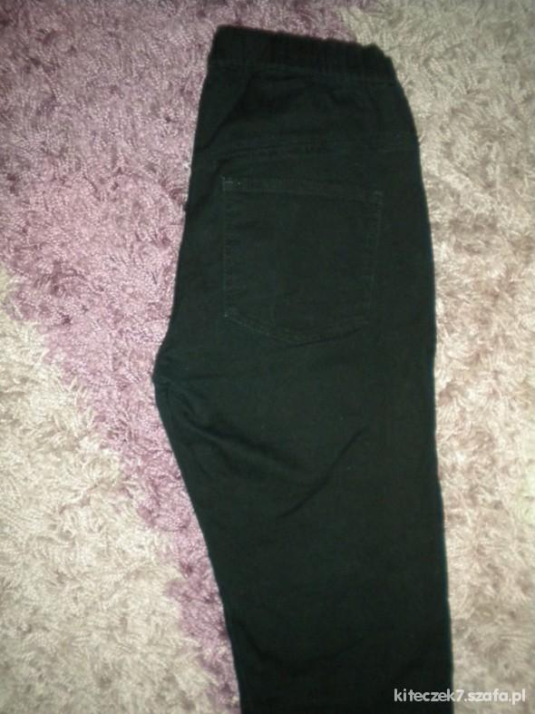Spodnie tregginsy czarne HM