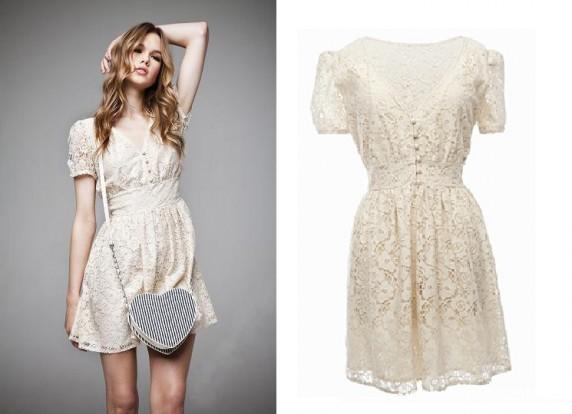 Suknie i sukienki HIt sukienka koronkowa atmosphere MUST HAVE