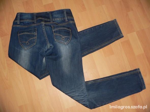 Spodnie rurki jeansy 38 40 OKAZJA