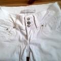 Białe spodnie Goodies M