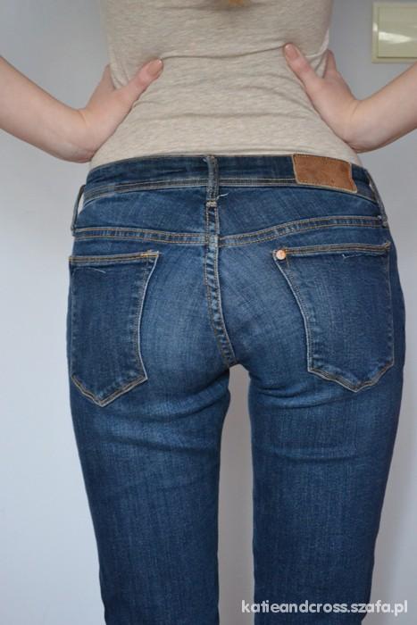Spodnie Spodnie H&M rurki 36