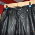 skózane spodnie