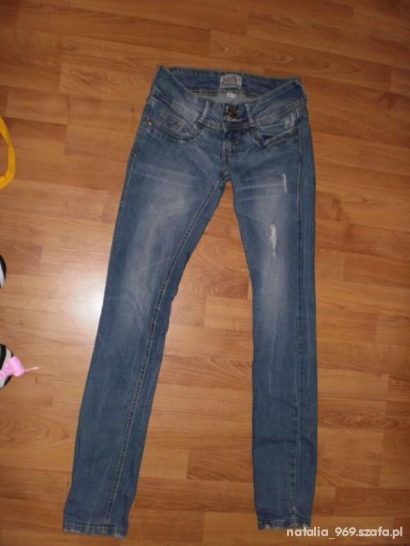 Spodnie Biodrówki bershka XS jak NOWE