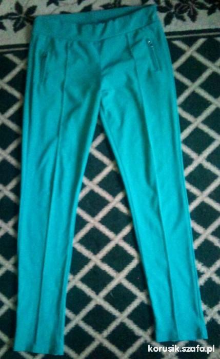 Spodnie Miętowe spodnie rozmiar 38