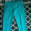 Miętowe spodnie rozmiar 38