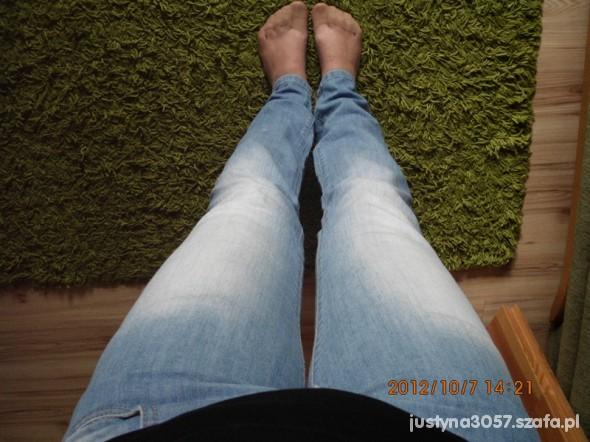 Spodnie Jeansy jasne
