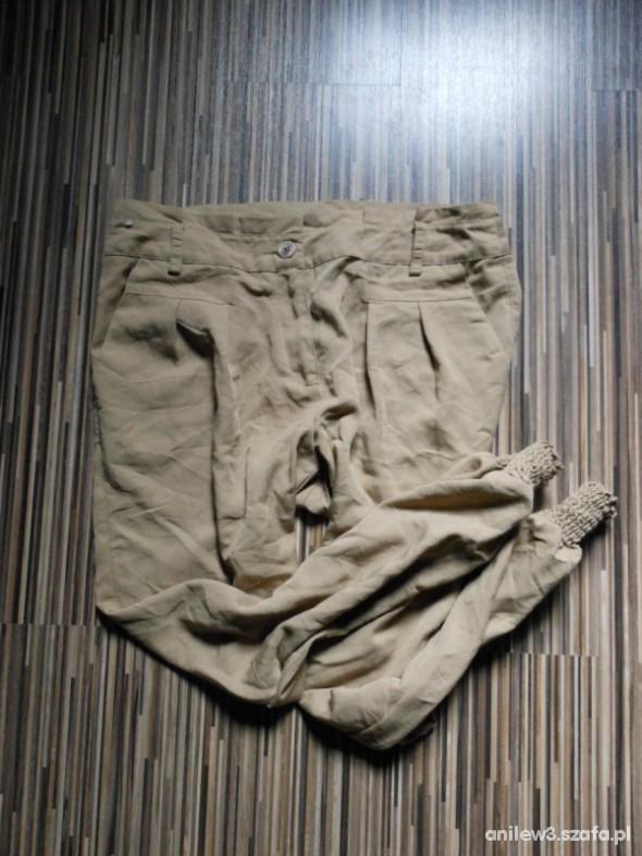 Spodnie haremkowate spodenki gumeczki