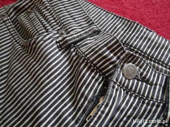 Spodnie rurki pasiaki Cheap Monday