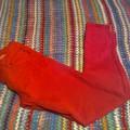 Czerwone rurki zip rozm 38