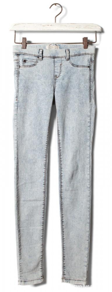 Spodnie jasne marmurki 34 poszukiwane Pull and Bear NOWE