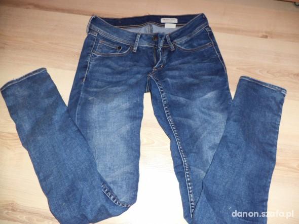 Spodnie Jeansowe rurki HM okazja WYSYŁKA GRATIS