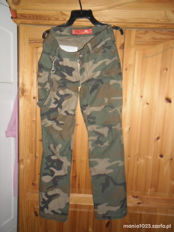 Spodnie spodnie moro Cropp