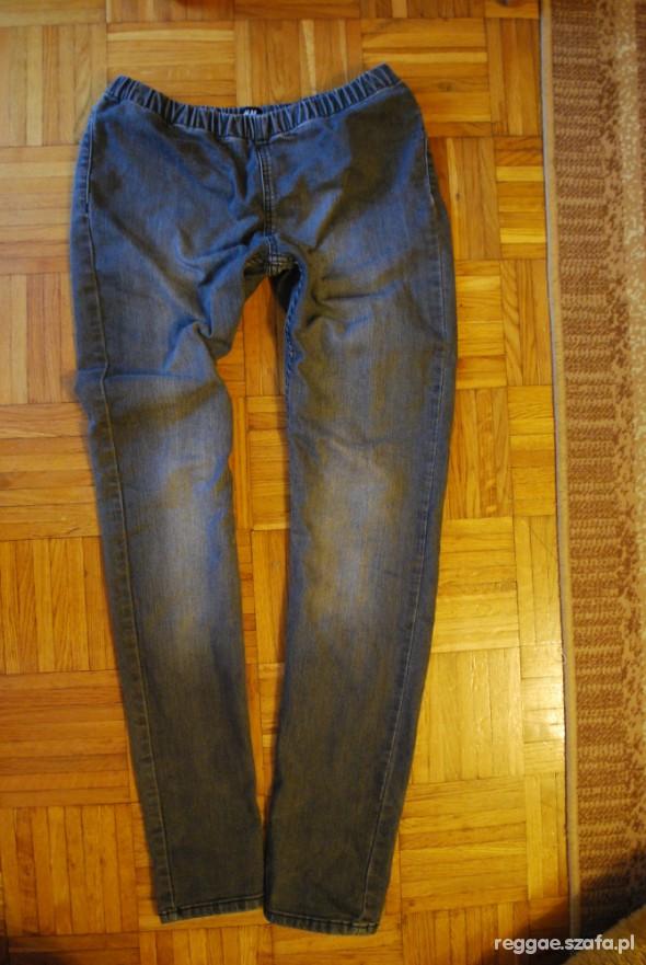 Spodnie Tregginsy szare H&M