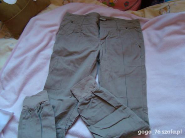 Spodnie bezowe spodnie