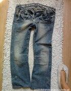 damskie spodnie typu skate...