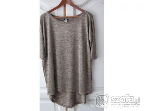 Ubrania Szukam luźna tunika oversize bluzka tshirt h&m