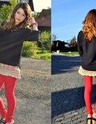 codzienna stylizacja red and black