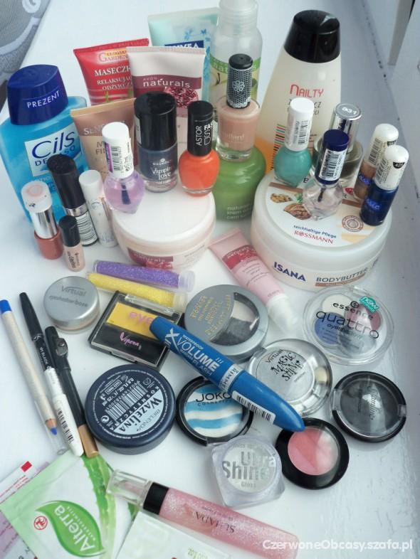 Zestaw kosmetyków Astor rimmel cały lub na części