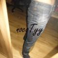 cudne wąskie jeansy