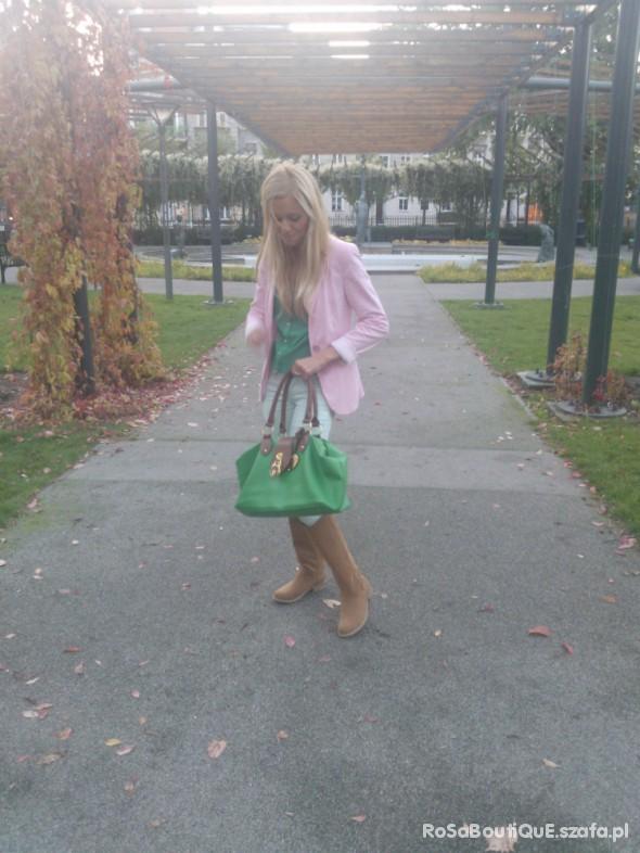 Do szkoły zielono
