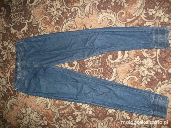 Spodnie niebieskie treginsy M