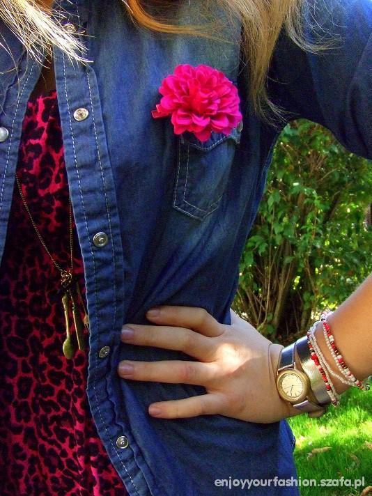 Romantyczne różowa panterka