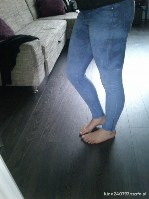 Spodnie mega obcisłe H&M