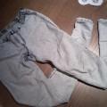 spodnie jasne marmurki house real foto S OKAZJA