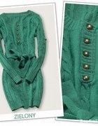 sweterkowa sukienka warkocz ML