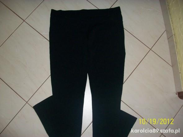 Spodnie SPODNIE LEGINSY CZARNE XL