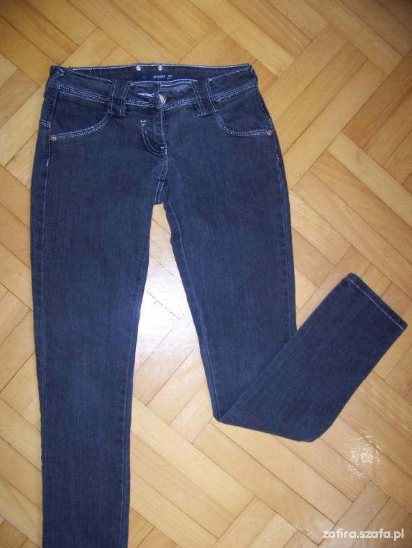 Spodnie szare rurki