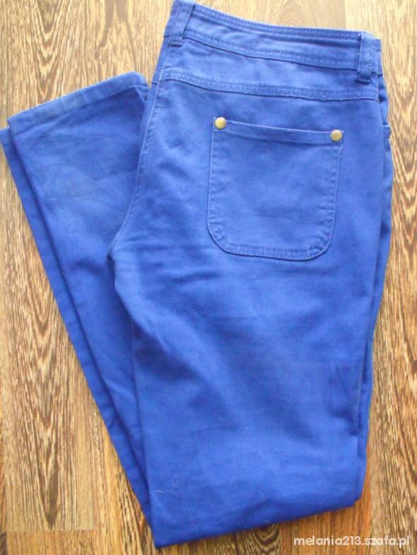 Spodnie Kobaltowe rurki