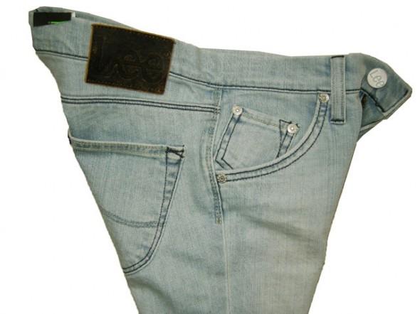 Spodnie SPODNIE JEANSOWE LEE Lynn Narrow JASNE