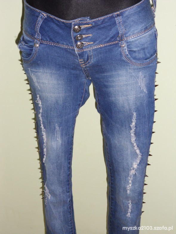 Spodnie zdobione