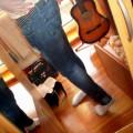 Spodnie redial przecierane mega