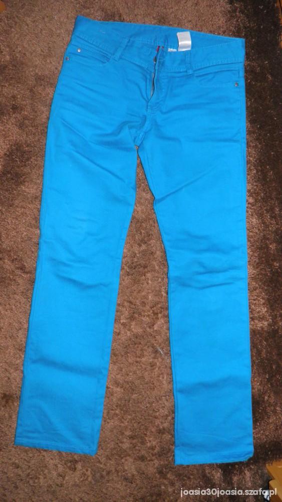 Spodnie spodnie niebieskie HM rozmiar M tylko 20zł