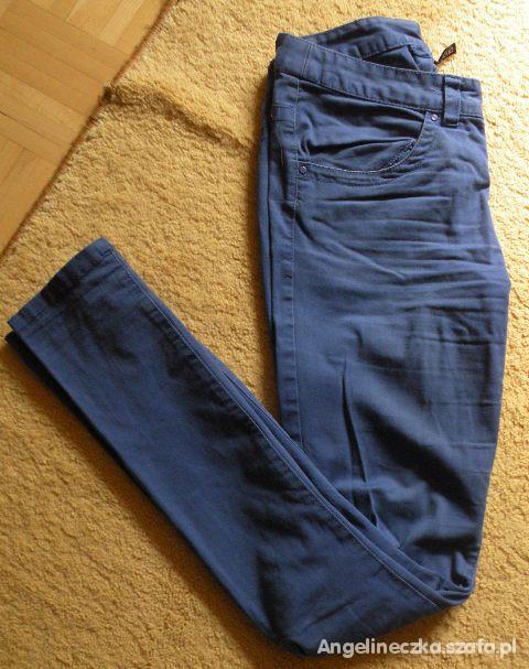 Spodnie niebieskie rurki H&M