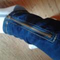 nowe ciemne klasyczne rurki zip skinny 34