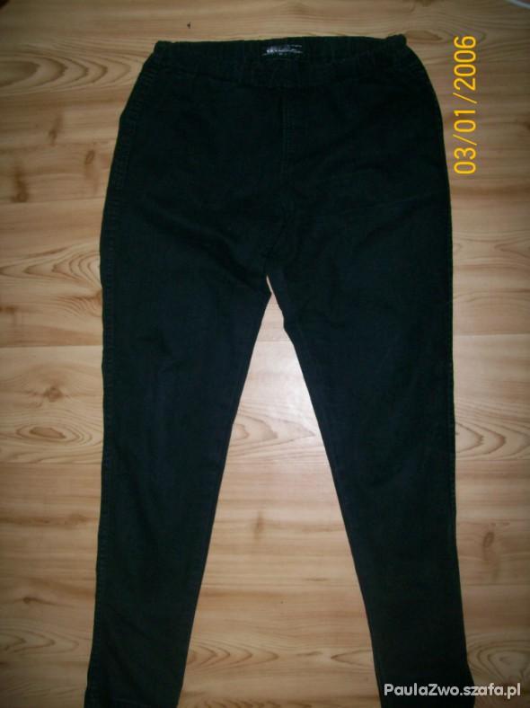 Spodnie tregginsy czarne S