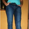 spodnie rurki nowe L 40