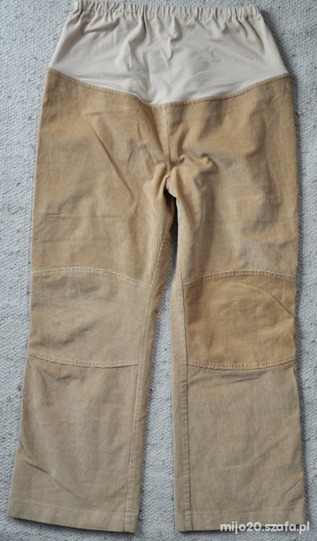 Spodnie Spodnie ciążzowe 44 46 sztruksowe